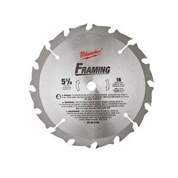 Milwaukee 48-40-4105 5-3/8 in. Framing Circular Saw Blade image number 0