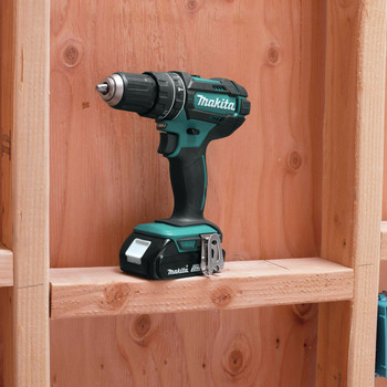 Factory Reconditioned Makita XPH10R-R 18V LXT Lithium-Ion Variable 2-Speed Compact 1/2 in. Cordless Hammer Drill Driver Kit (2 Ah) image number 7