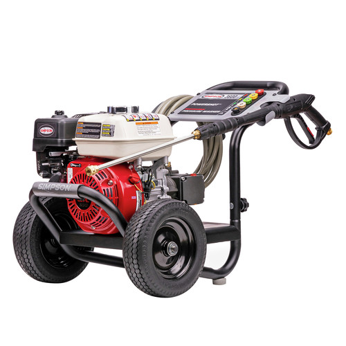 Simpson 60996 PowerShot 3600 PSI 2.5 GPM Professional Gas Pressure Washer with AAA Triplex Pump