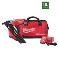 Milwaukee 2743-21CT FUEL M18 18V Cordless Lithium-Ion 15-Gauge Brushless  Finish Nailer Kit