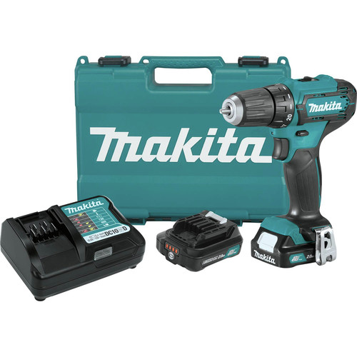 Makita FD09R1 12V max CXT Lithium-Ion Brushless 3/8 in. Cordless Drill Driver Kit (2 Ah) image number 0