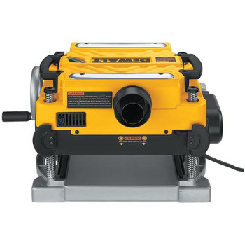Dewalt DW735X 13 in.  Two-Speed Thickness Planer with Support Tables and Extra Knives image number 2