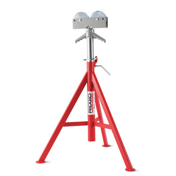 Ridgid RJ-99 12 in. Capacity Roller Head High Pipe Stand