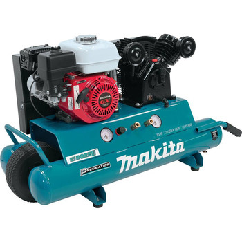 Makita MAC5501G 5.5 HP 10 Gallon Oil-Lube Wheelbarrow Air Compressor