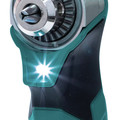 Makita AD03R1 12V max CXT Lithium-Ion 3/8 in. Cordless Right Angle Drill Kit (2 Ah) image number 4