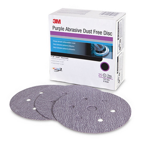 3M 30786 Purple Abrasive Disc D/F 30786 6 in. 40E (25-Pack)