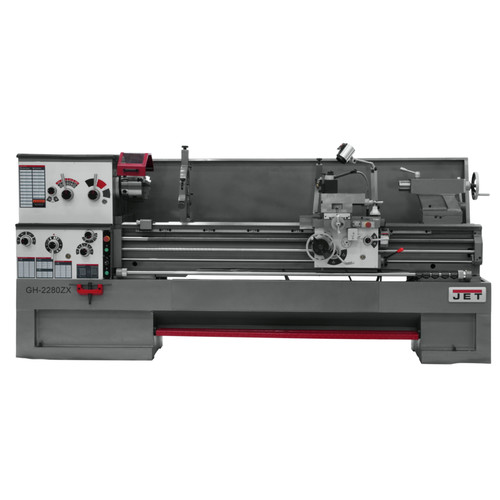JET GH-2280ZX Lathe with Taper Attachment image number 0