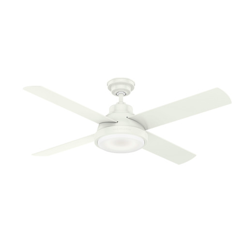 Casablanca 59431 54 in. Levitt Fresh White Ceiling Fan with LED Light Kit and Wall Control image number 0