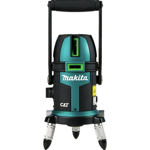 Makita SK209GDZ 12V MAX CXT Lithium-Ion Cordless Self-Leveling Multi-Line/Plumb Point Green Beam Laser (Tool Only) image number 7