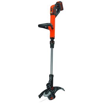 Black & Decker LST522 20V MAX 2.5 Ah Cordless Lithium-Ion 12 in. 2-Speed String Trimmer/Edger Kit