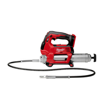 Milwaukee 2646-20 M18 18V Lithium-Ion 2-Speed Cordless Grease Gun (Tool Only)