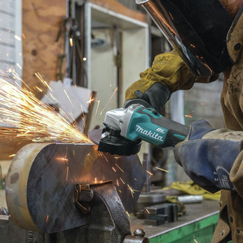 Factory Reconditioned Makita XAG03Z-R 18V LXT Cordless Lithium-Ion 4-1/2 in. Brushless Cut-Off/Angle Grinder (Tool Only) image number 3