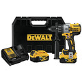 Dewalt DCD997P2BT 20V MAX XR Lithium-Ion Compact 1/2 in. Cordless Hammer Drill Kit with Tool Connect (5 Ah) image number 0