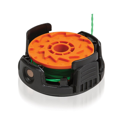 Worx WA0204 20 ft. x .08 in. Replacement Trimmer Line with Spool and Cap for WG190