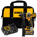 Dewalt DCD999T1 20V MAX Brushless Lithium-Ion 1/2 in. Cordless Hammer Drill Driver Kit with FLEXVOLT ADVANTAGE (6 Ah) image number 0