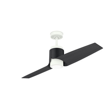 Casablanca 59338 Wi-Fi Enabled HomeKit Compatible 54 in. Aya Porcelain White Ceiling Fan with Light and Integrated Control System-Wall Control