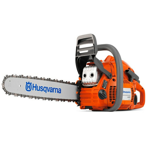 Husqvarna 445 45.7cc Gas 18 in. Rear Handle Chainsaw