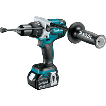 Factory Reconditioned Makita XPH07MB-R 18V LXT Lithium-Ion Brushless 1/2 in. Cordless Hammer Drill Driver Kit (4 Ah) image number 1
