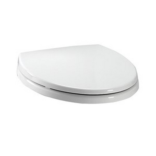 TOTO SS114#01 SoftClose Elongated Polypropylene Closed Front Toilet Seat & Cover (Cotton White)