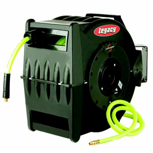 Legacy Mfg. Co. L8305FZ Flexzilla 50 ft. x 3/8 in. Levelwind Retractable Hose Reel image number 0