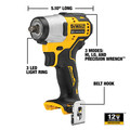 Dewalt DCF902F2 XTREME 12V MAX Brushless Lithium-Ion 3/8 in. Cordless Impact Wrench Kit (2 Ah) image number 7