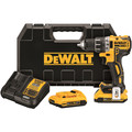 Dewalt DCD791D2 20V MAX XR Lithium-Ion Brushless Compact 1/2 in. Cordless Drill Driver Kit (2 Ah) image number 0