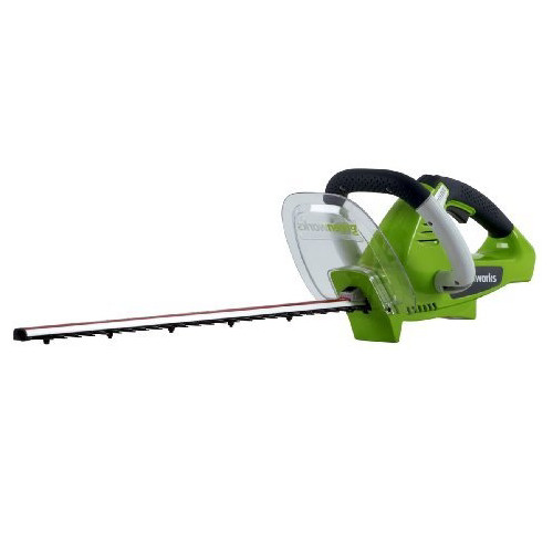 Greenworks 22622 20V Cordless Lithium-Ion 22 in. Dual Action Electric Hedge Trimmer