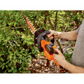 Factory Reconditioned Black & Decker LHT321R 20V MAX Cordless Lithium-Ion POWERCOMMAND 22 in. Hedge Trimmer image number 8