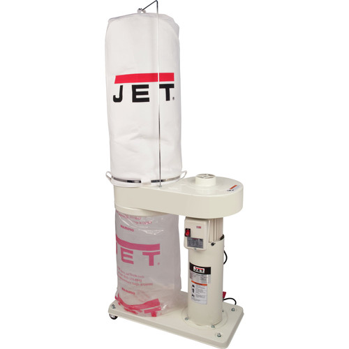 JET DC650 1 HP 650 CFM Dust Collector with 5 Micron Bag image number 0