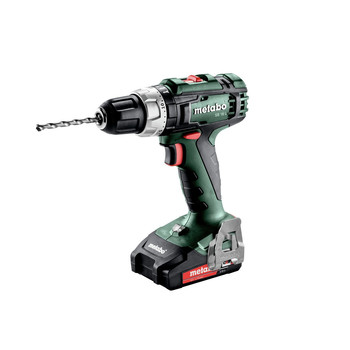 Metabo 602317520 18V SB 18 L Lithium-Ion Brushed 1/2 in. Cordless Hammer Drill Driver Kit (2 Ah) image number 1