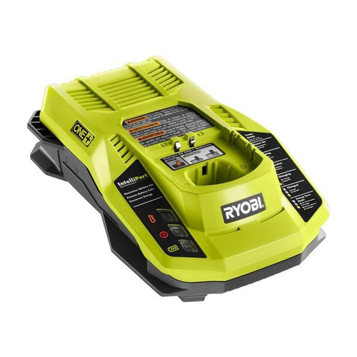 Ryobi P117 ONE Plus 18V Dual-Chemistry Lithium Ion Battery Charger