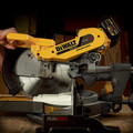Dewalt DHS790AT2 MAX FlexVolt Cordless Lithium-Ion 12 in. Dual Bevel Sliding Compound Miter Saw Kit with Batteries and Adapter image number 8