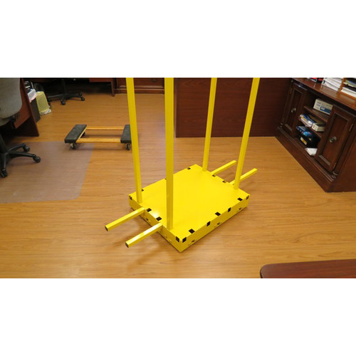 Saw Trax YSD 1,000 lb. Capacity Yel-Low Safety Dolly image number 0