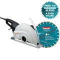 Makita 4114X 14 in. Angle Cutter with FREE Diamond Blade
