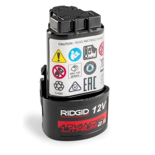 Ridgid 55183 1-Piece 12V Advanced 2.5 Ah Lithium-Ion Battery image number 0
