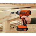 Black & Decker BDCI20C 20V MAX Cordless Lithium-Ion Impact Driver image number 3