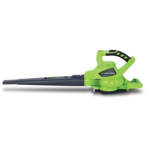 Greenworks 24312 40V G-MAX Cordless Lithium-Ion DigiPro Brushless Variable-Speed Handheld Blower Vac (Bare Tool)