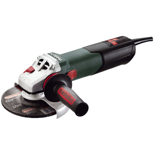 Metabo W12-150 Quick 10.5 Amp 6 in. Angle Grinder with Lock-On Sliding Switch