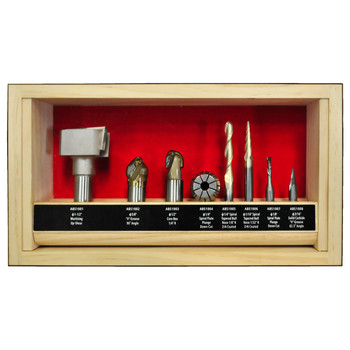 Powermatic PM-RBS CNC Router Bit Set