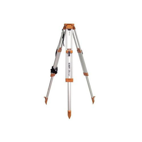 CST/berger 60-ALQRI40-O 65 in. Quick-Clamp Aluminum Dome Head Heavy-Duty Tripod (Orange)