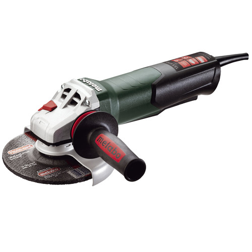 Metabo WEP15-150 Quick 13.5 Amp 6 in. Angle Grinder with TC Electronics and Non-Locking Paddle Switch