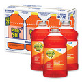 Pine-Sol 41772 3/Carton 144 oz. All-Purpose Cleaner - Orange Energy image number 0