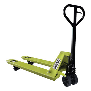 General International 51-061 X1 Series Leak Proof Welded Pump 4400 lbs. Capacity Standard Pallet Jack