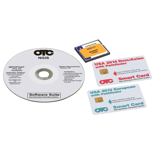 OTC Tools & Equipment 3421-149 Genisys 2014 Software Super Bundle image number 0