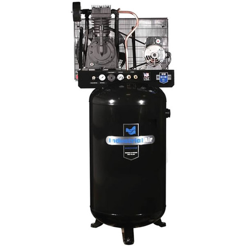 Industrial Air IV5048055 5 HP 80 Gallon Industrial Stationary Air Compressor image number 0