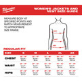 Milwaukee 232B-21L M12 Heated Women's Softshell Jacket Kit - Black, Large image number 4