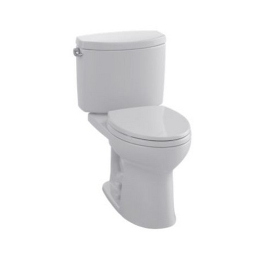 TOTO CST454CEFG#11 Drake II Elongated 2-Piece Floor Mount Toilet (Colonial White)
