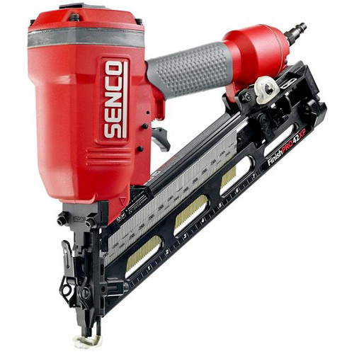 SENCO FinishPro 42XP FinishPro42XP XtremePro 15-Gauge 2-1/2 in. Oil-Free Angled Finish Nailer