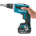 Makita XSF03T 18V LXT 5.0 Ah Lithium-Ion Brushless Cordless Drywall Screwdriver Kit image number 2