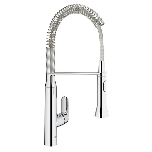 Grohe 31380000 1/2 in. K7 Medium Semi-Professional Kitchen Faucet (Chrome)